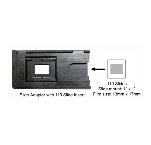 110 Film 1x1 Inch Slides Adapter