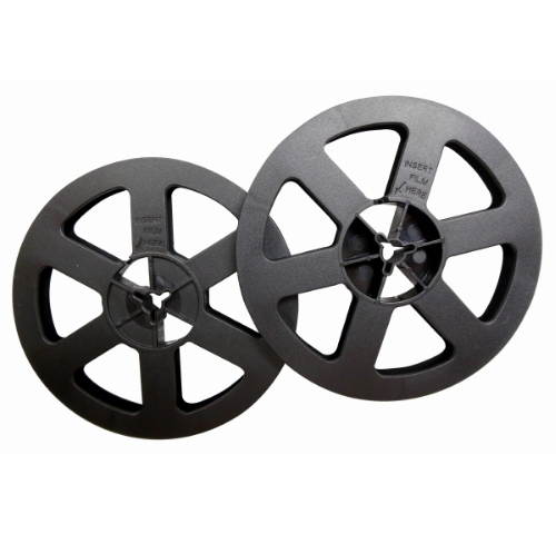 "5""-200 Feet Film Reels Quantity of Two"