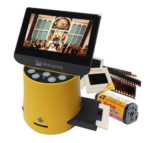 Titan 8-in-1 High-Definition Film to Digital Converter