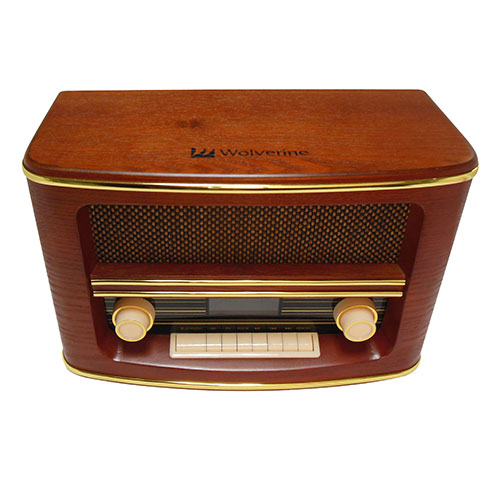 Retro Style Radio and Bluetooth Speaker